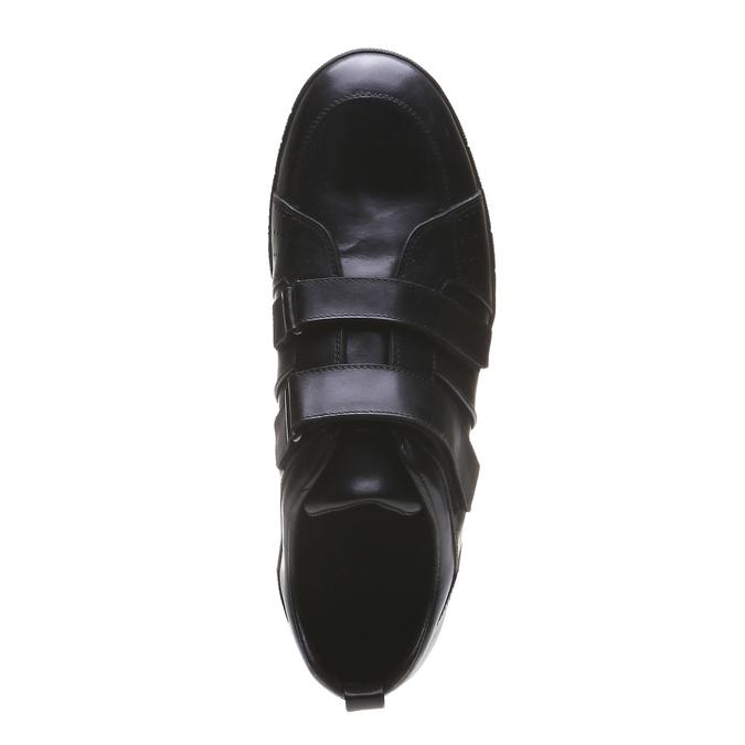 Kožené tenisky bata, čierna, 814-6344 - 19