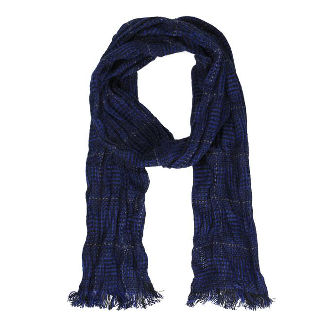 Ležérna modrá šatka bata, modrá, 909-9233 - 13