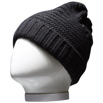 Pletená čiapka bata, čierna, 909-6391 - 13