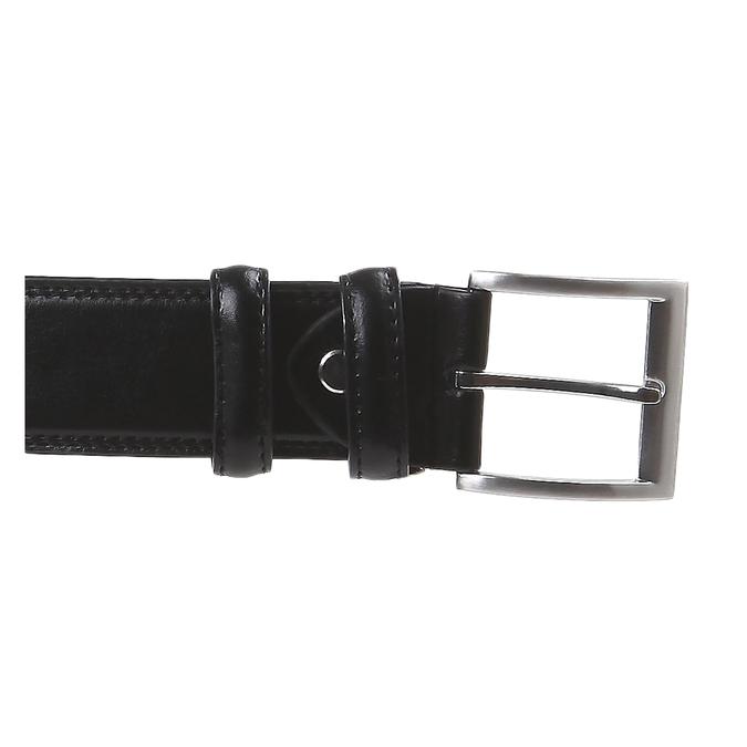 Klasický kožený opasok bata, čierna, 954-6888 - 26