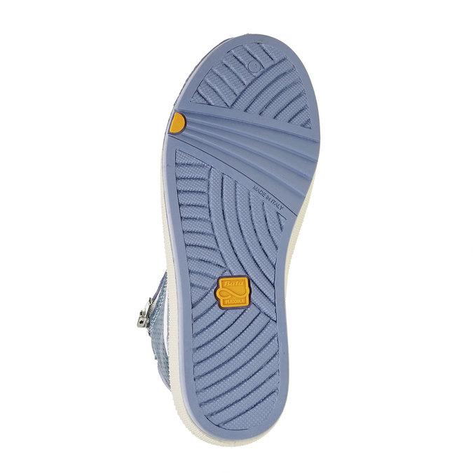 Detské členkové tenisky flexible, modrá, 311-9194 - 26