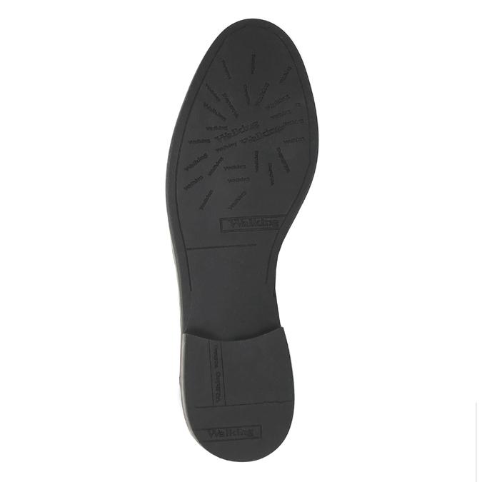Kožená členková obuv Chelsea bata, čierna, 594-6604 - 26