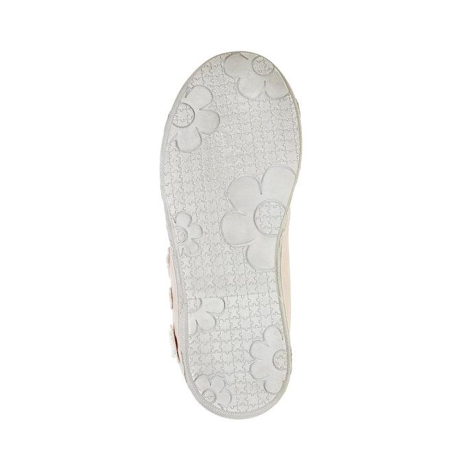 Dievčenské tenisky na suchý zips mini-b, ružová, 221-5161 - 26