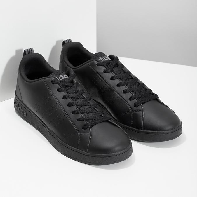 Pánske čierne tenisky adidas, čierna, 801-6144 - 26