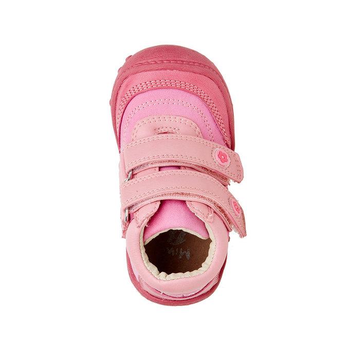 Dievčenské členkové topánky mini-b, ružová, 121-5104 - 19