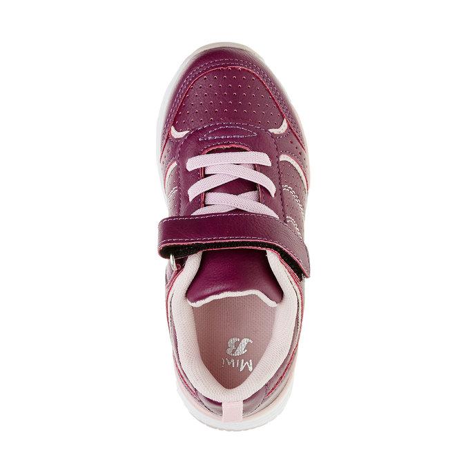 Dievčenské športové tenisky mini-b, fialová, 321-9185 - 19