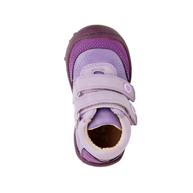 Dievčenské členkové topánky mini-b, fialová, 121-9104 - 19