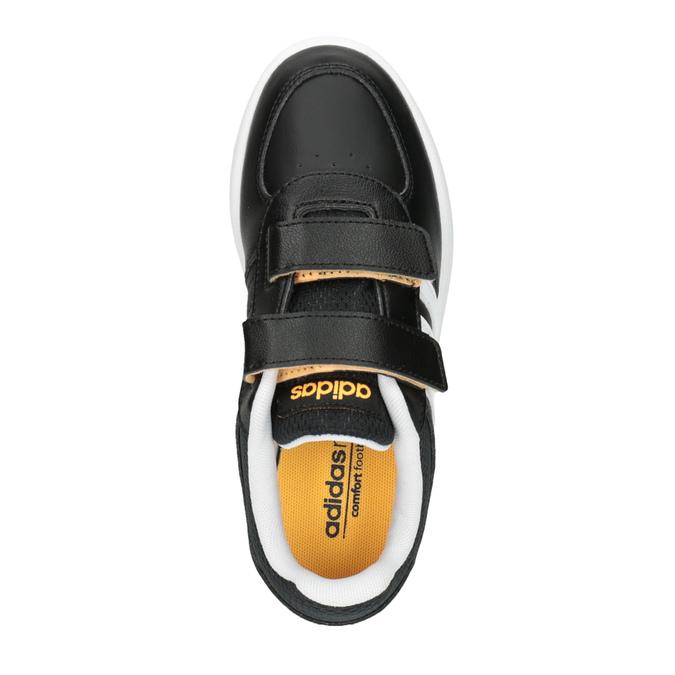 Detské tenisky na suchý zips adidas, čierna, 301-6167 - 19