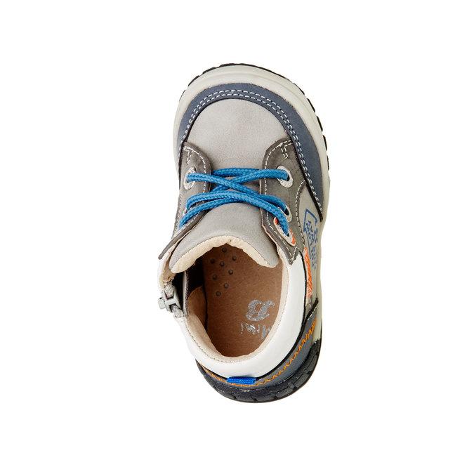 Členkové topánky so zipsom mini-b, šedá, 111-2100 - 19