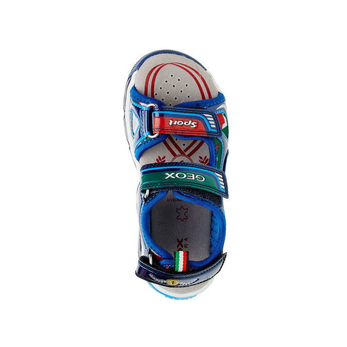 Detské sandále geox, modrá, 361-9103 - 19