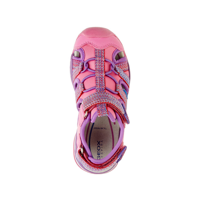 Detské športové sandále geox, červená, 361-5102 - 19