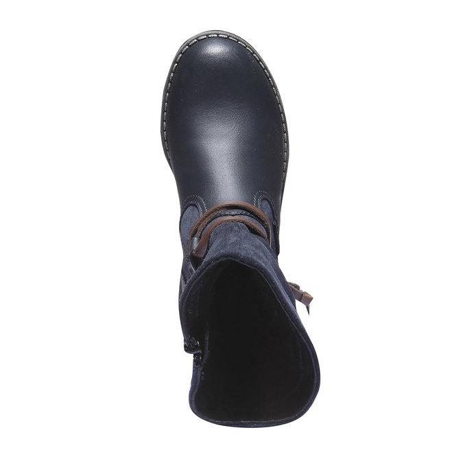 Detská obuv mini-b, modrá, 394-9100 - 19