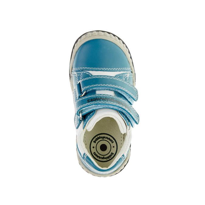 Detské tenisky na suchý zips bubblegummer, modrá, 113-9145 - 19