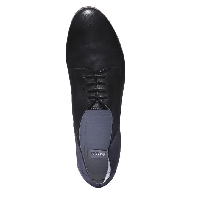 Kožené poltopánky bata, čierna, 524-6169 - 19