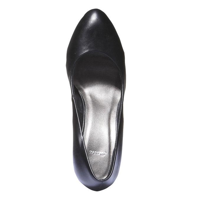 Lodičky na vysokom podpätku bata, čierna, 721-6237 - 19
