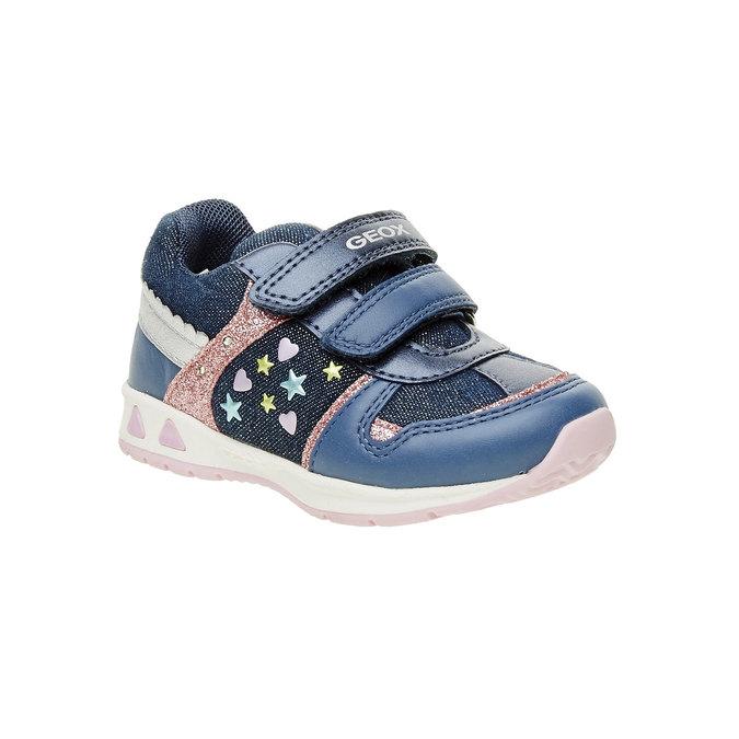 Detské priedušné tenisky geox, modrá, 129-9102 - 13