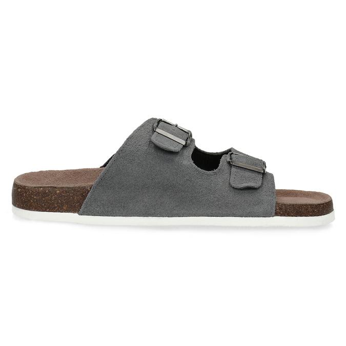 Pánska domáca obuv de-fonseca, šedá, 873-2610 - 19