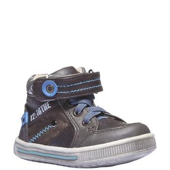 Detská obuv mini-b, hnedá, 111-4102 - 13