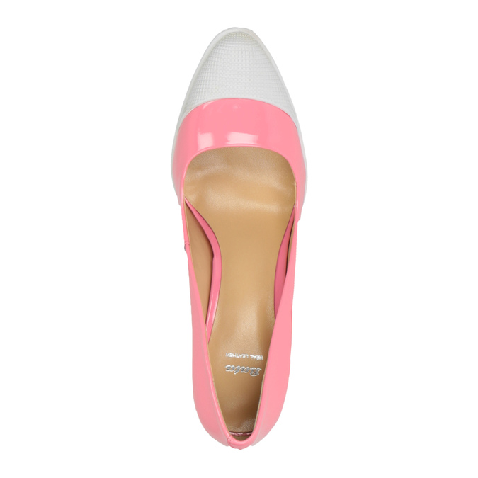Ružové lodičky v športovom dizajne bata, ružová, 726-5630 - 19