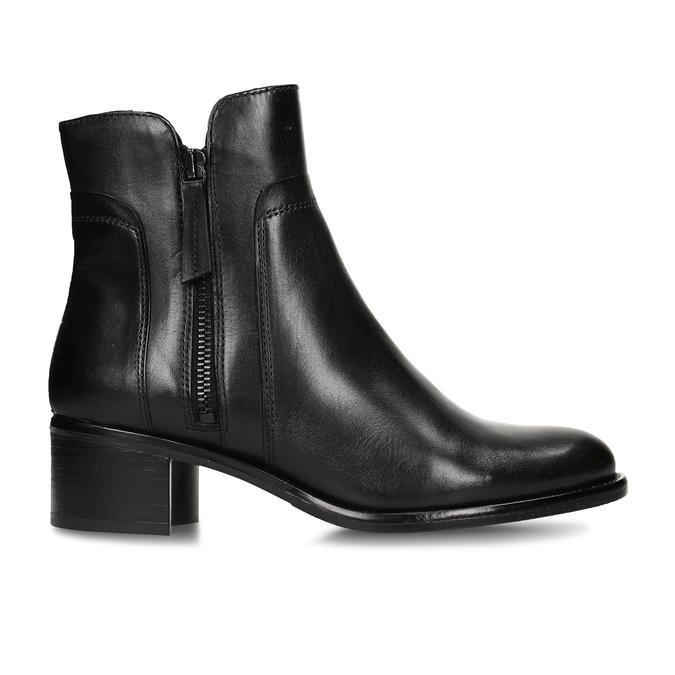 Dámska členková obuv bata, čierna, 694-6600 - 19
