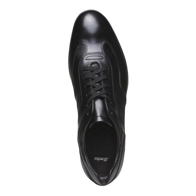 Šnurovacia obuv Giorgio bata, čierna, 824-6988 - 19