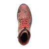 Kožená členková obuv s kvetinovým vzorom bata, ružová, 596-5609 - 19
