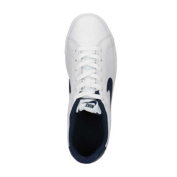 Biele pánske tenisky nike, biela, 801-1235 - 19
