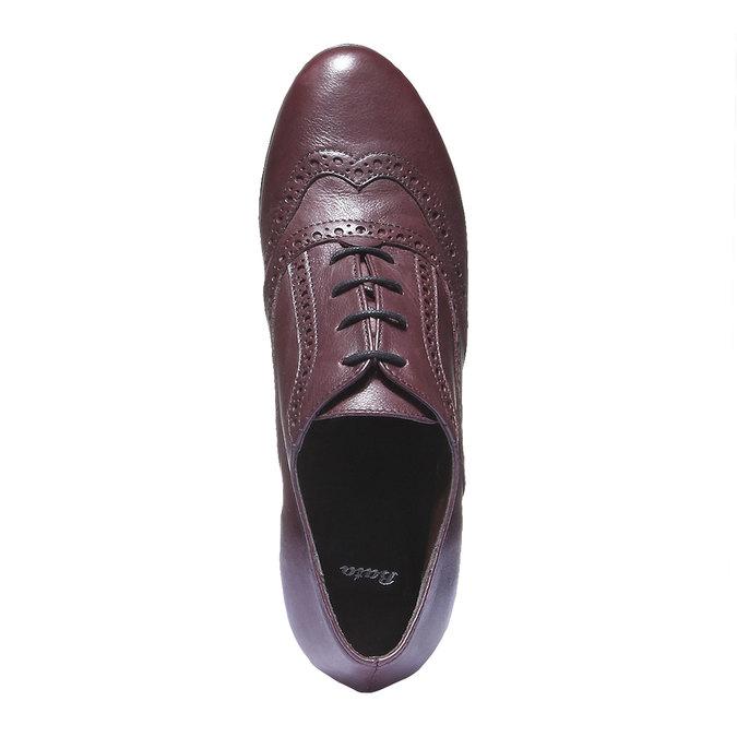 Dámska členková obuv bata, červená, 624-5142 - 19