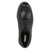 Kožené poltopánky s výraznou podrážkou bata, čierna, 826-6641 - 19