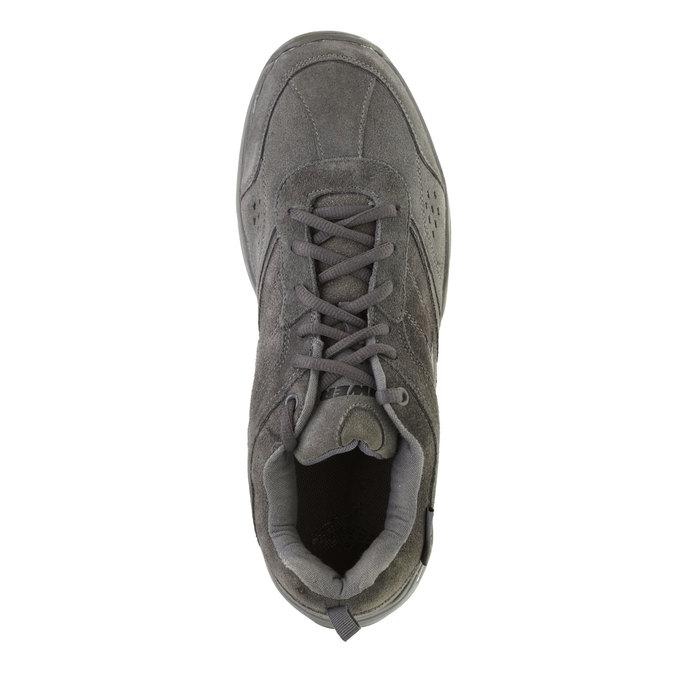 Kožené športové tenisky power, šedá, 803-2243 - 19