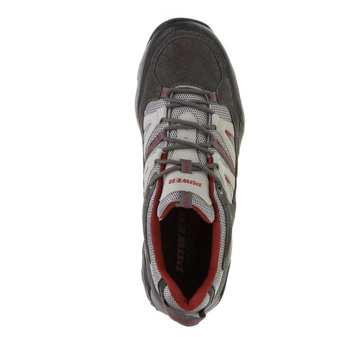 Pánske tenisky power, šedá, 803-2284 - 19