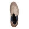Semišové Chelsea bata, hnedá, 893-2373 - 19