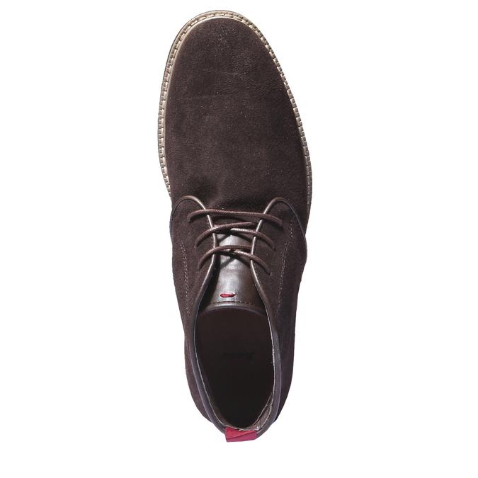 Členková obuv v štýle Chukka bata, hnedá, 893-4245 - 19