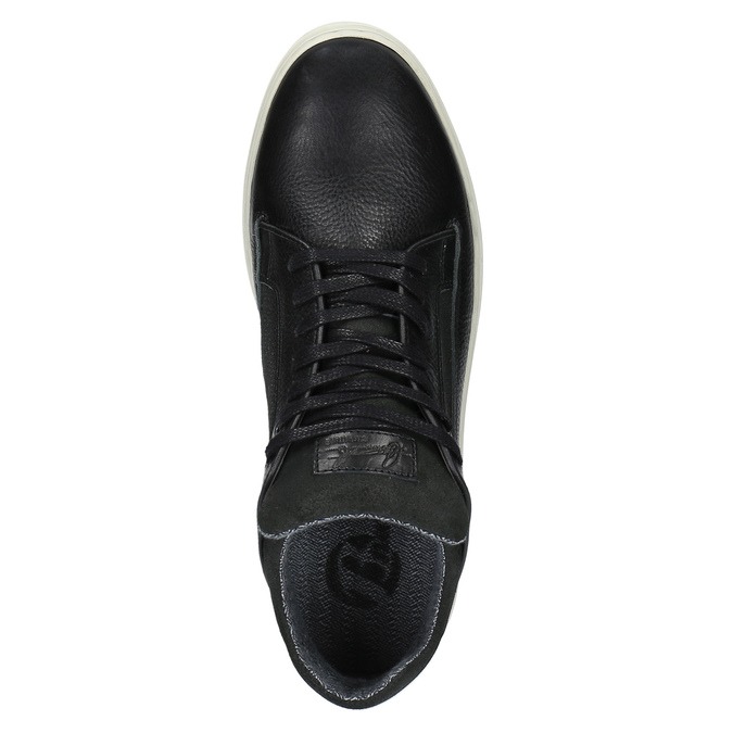 Pánske ležérne tenisky bata, čierna, 844-6624 - 19