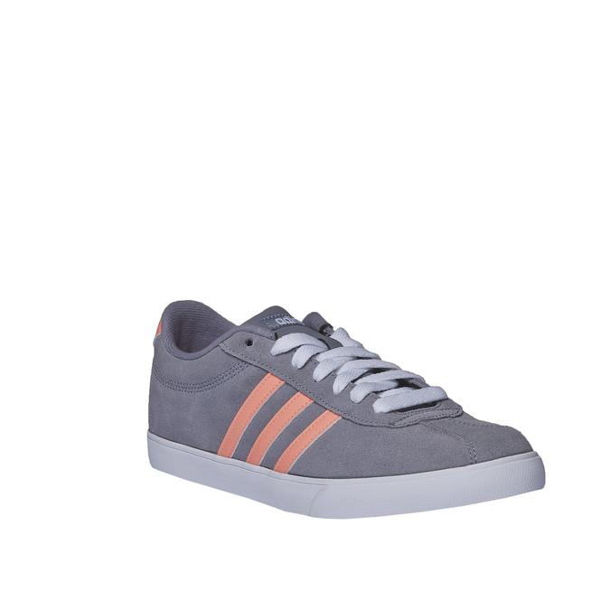 Ležérne kožené tenisky adidas, šedá, 503-2685 - 13