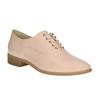 Dámske Oxford poltopánky bata, ružová, 528-5631 - 13