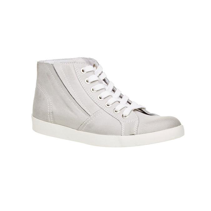 Kožené členkové tenisky bata, biela, 524-1310 - 13