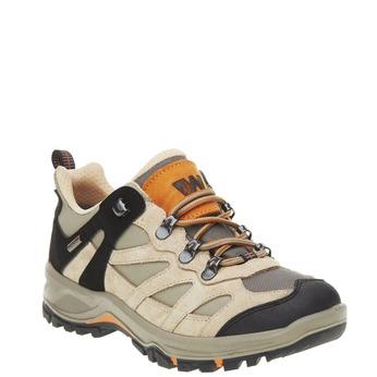 Kožené Outdoor topánky, žltá, 543-8208 - 13