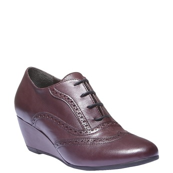 Dámska členková obuv bata, červená, 624-5142 - 13