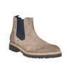 Semišové Chelsea bata, hnedá, 893-2373 - 13