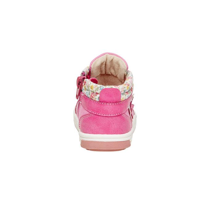 Detské členkové topánky mini-b, ružová, 121-5100 - 17
