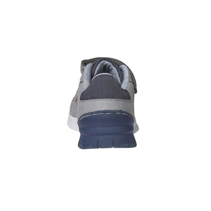 Detské tenisky na suchý zips mini-b, šedá, 311-2190 - 17