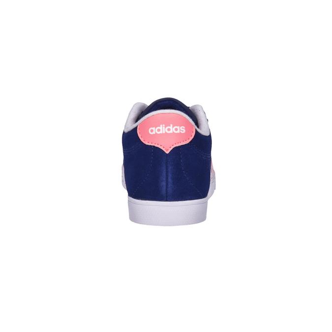 Dámske kožené tenisky adidas, modrá, 503-9201 - 17