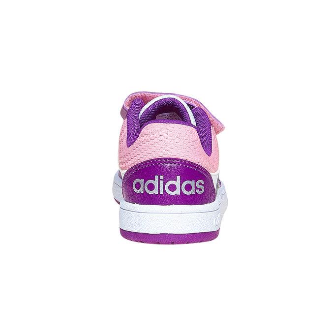 Detské tenisky na suchý zips adidas, fialová, 301-1167 - 17