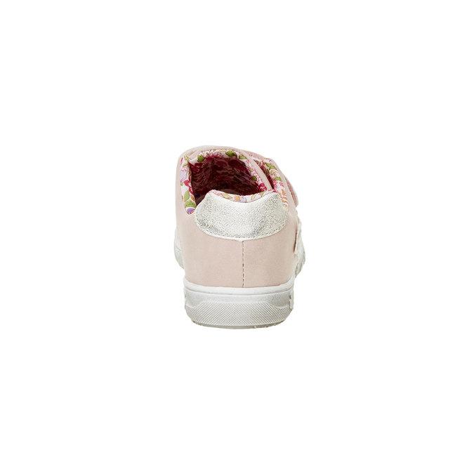 Dievčenské tenisky na suchý zips mini-b, ružová, 221-5161 - 17