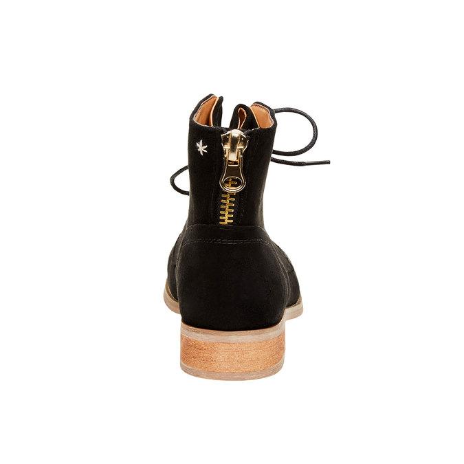 Členkové topánky so zipsom bata, čierna, 599-6493 - 17