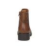 Dámska členková obuv bata, hnedá, 696-4606 - 17