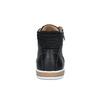 Pánske členkové tenisky bata, čierna, 844-6625 - 17