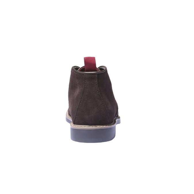 Členková obuv v štýle Chukka bata, hnedá, 893-4245 - 17