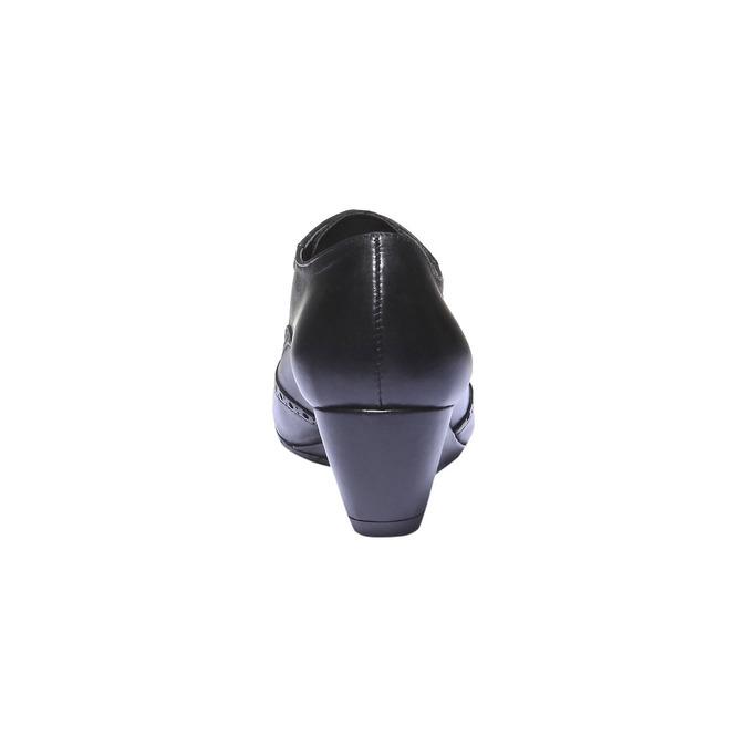 Dámska členková obuv bata, čierna, 624-6142 - 17